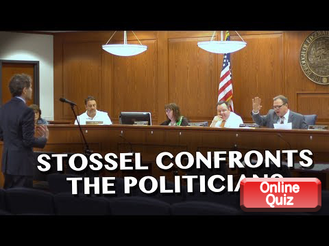 Stossel Confronts Politicians
