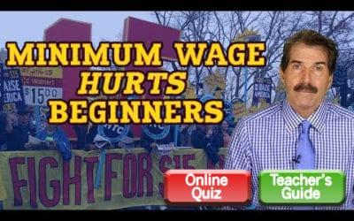 Minimum Wage Hurts Beginners