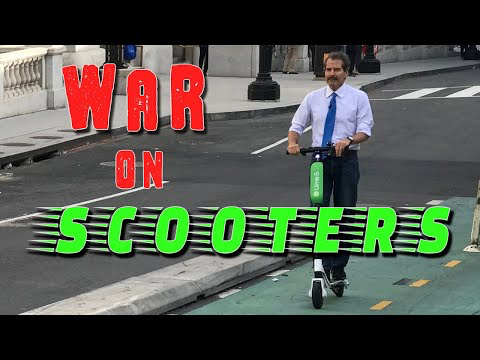 War on Electric Scooters