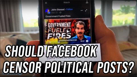 Both Sides: Should Facebook Censor Political Posts?