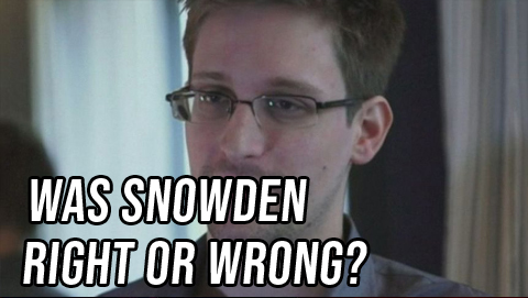 Both Sides: Was Snowden Right or Wrong?