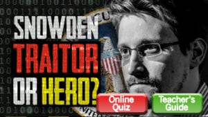 Snowden: Traitor or Hero?